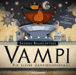 Vampi-Die kleine Vampirfledermaus von Baumgärtner,  Sandra, Swerk,  Ben