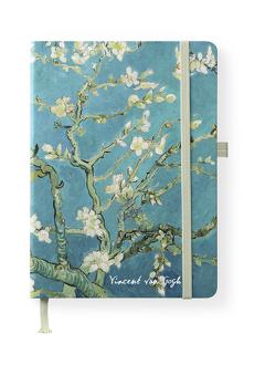 van Gogh 16×22 cm – Blankbook – 192 blanko Seiten – Hardcover – gebunden von van Gogh,  Vincent
