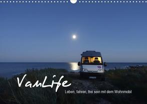Vanlife – Leben, fahren, frei sein mit dem Wohnmobil (Wandkalender 2020 DIN A3 quer) von Flachmann,  Susanne