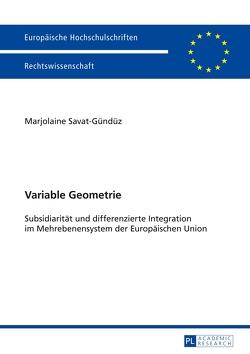 Variable Geometrie von Savat-Gündüz,  Marjolaine