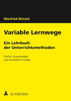 Variable Lernwege von Bönsch,  Manfred