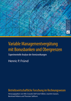 Variable Managementvergütung mit Bonusbanken und Obergrenzen von Fründ,  Henric P.