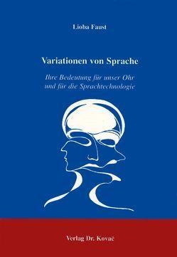 Variationen von Sprache von Faust,  Lioba