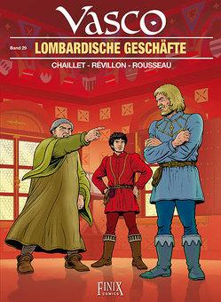 Vasco / Lombardische Geschäfte von Chaillet,  Gilles, Révillon,  Luc, Rousseau,  Dominique