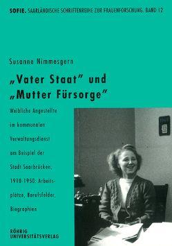 """""""Vater Staat"""" und """"Mutter Fürsorge"""" von Nimmesgern,  Susanne"""