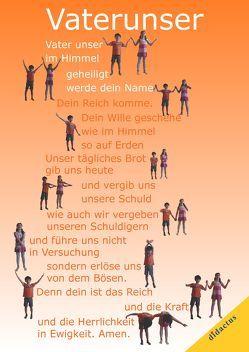 Vaterunser-Poster mit Bewegungen von Schöll,  Carmen