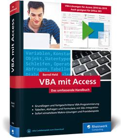 VBA mit Access von Held,  Bernd