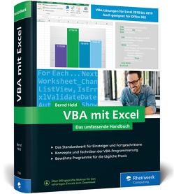 VBA mit Excel von Held,  Bernd