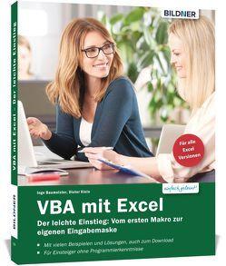 VBA mit Excel – Der leichte Einstieg von Baumeister,  Inge, Klein,  Dieter