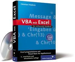 VBA mit Excel von Friedrich,  Christian