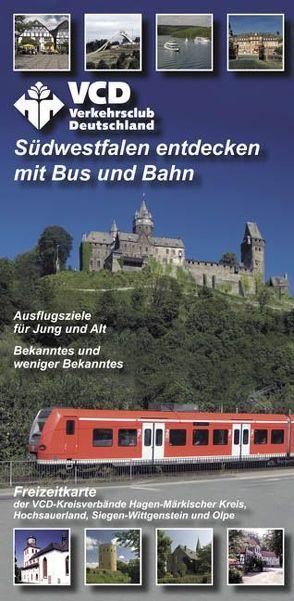 VCD Freizeitkarte Südwestfalen von Walder,  Achim