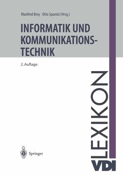 VDI-Lexikon Informatik und Kommunikationstechnik von Broy,  Manfred, Spaniol,  Otto