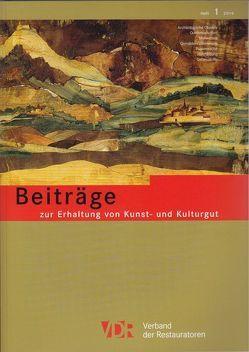 VDR-Beiträge zur Erhaltung von Kunst- und Kulturgut, Heft 1/2014