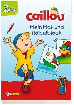 VE 5 Caillou: Mein Mal- und Rätselblock