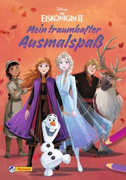 VE 5 Disney Die Eiskönigin 2: Mein traumhafter Ausmalspaß