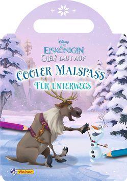 VE 5 Disney Die Eiskönigin Olaf taut auf: Cooler Malspaß für unterwegs
