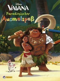 VE 5 Disney Vaiana: Paradiesischer Ausmalspaß