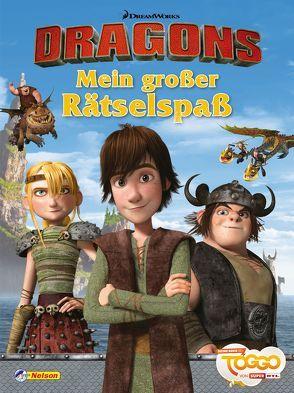 DreamWorks Dragons: VE 5 Dreamworks Dragons: Mein großer Rätselspaß