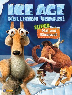 """VE 5 Ice Age """"Kollision voraus!"""": Super Mal- und Rätselspaß"""