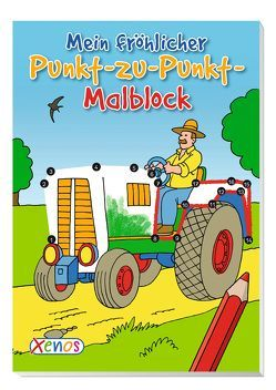 VE 5 Mein fröhlicher Punkt-zu-Punkt-Malblock