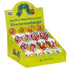 VE Die kleine Raupe Nimmersatt – Geschenkanhänger 6×6 Ex. von Carle,  Eric
