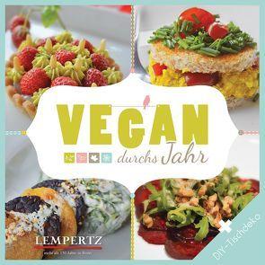 Vegan durchs Jahr von Buttons,  Nikki