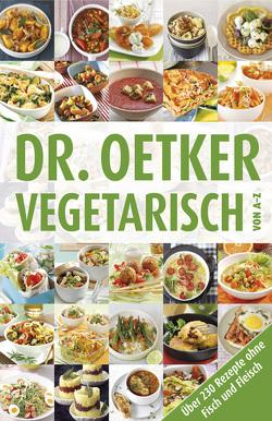 Vegetarisch von A-Z von Dr. Oetker