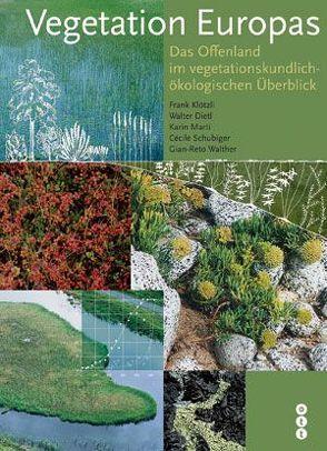Vegetation Europas von Dietl,  Walter, Klötzli,  Frank, Marti,  Karin, Schubiger-Bossard,  Cécile, Walther,  Jean R
