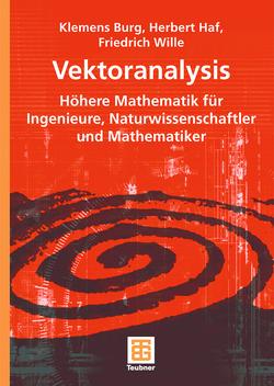 Vektoranalysis von Burg,  Klemens, Haf,  Herbert, Wille,  Friedrich