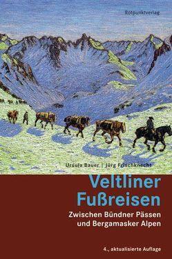 Veltliner Fussreisen von Bauer,  Ursula, Frischknecht,  Jürg