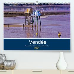 Vendée Aus dem Meer steigender Himmel Frankreichs (Premium, hochwertiger DIN A2 Wandkalender 2021, Kunstdruck in Hochglanz) von Benning,  Kristen