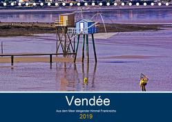 Vendée Aus dem Meer steigender Himmel Frankreichs (Tischkalender 2019 DIN A5 quer) von Benning,  Kristen