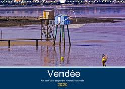 Vendée Aus dem Meer steigender Himmel Frankreichs (Wandkalender 2020 DIN A3 quer) von Benning,  Kristen