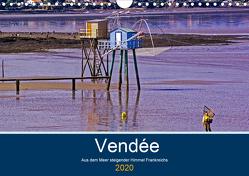 Vendée Aus dem Meer steigender Himmel Frankreichs (Wandkalender 2020 DIN A4 quer) von Benning,  Kristen
