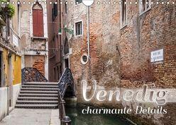 VENEDIG charmante Details (Wandkalender 2018 DIN A4 quer) von Viola,  Melanie