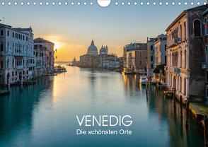Venedig – Die schönsten Orte (Wandkalender 2021 DIN A4 quer) von Tesmar,  Stefan