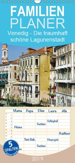 Venedig – Die traumhaft schöne Lagunenstadt – Familienplaner hoch (Wandkalender 2019 , 21 cm x 45 cm, hoch) von LianeM