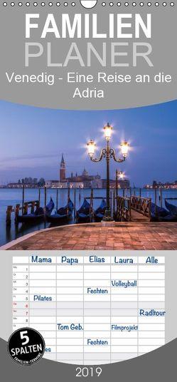 Venedig – Eine Reise an die Adria – Familienplaner hoch (Wandkalender 2019 , 21 cm x 45 cm, hoch) von Claude Castor I 030mm-photography,  Jean
