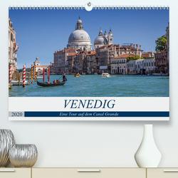 VENEDIG Eine Tour auf dem Canal Grande (Premium, hochwertiger DIN A2 Wandkalender 2020, Kunstdruck in Hochglanz) von Viola,  Melanie