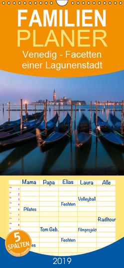 Venedig – Facetten einer Lagunenstadt – Familienplaner hoch (Wandkalender 2019 , 21 cm x 45 cm, hoch) von Claude Castor I 030mm-photography,  Jean