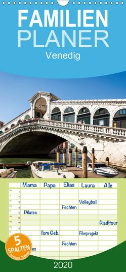 Venedig – Familienplaner hoch (Wandkalender 2020 , 21 cm x 45 cm, hoch) von Gann (magann),  Markus