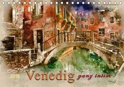Venedig – ganz intim (Tischkalender 2018 DIN A5 quer) von Roder,  Peter