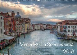 Venedig – La Serenissima 2019 (Wandkalender 2019 DIN A2 quer) von Haas Photography,  Sascha