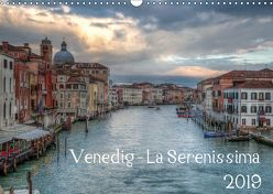 Venedig – La Serenissima 2019 (Wandkalender 2019 DIN A3 quer) von Haas Photography,  Sascha
