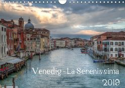 Venedig – La Serenissima 2019 (Wandkalender 2019 DIN A4 quer) von Haas Photography,  Sascha