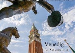 Venedig – La Serenissima (Wandkalender 2019 DIN A2 quer) von R. Hentschel,  Lothar
