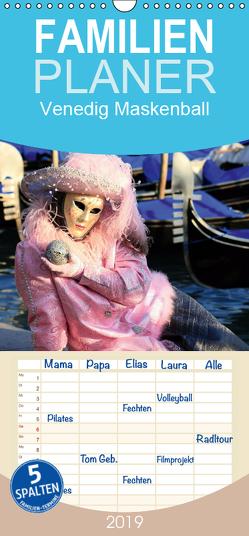 Venedig Maskenball – Familienplaner hoch (Wandkalender 2019 , 21 cm x 45 cm, hoch) von Hasche Fotografie,  Joachim