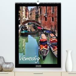 Venedig (Premium, hochwertiger DIN A2 Wandkalender 2020, Kunstdruck in Hochglanz) von Reschke,  Uwe