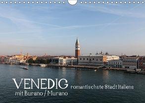 Venedig – romantischste Stadt Italiens – mit Burano und Murano (Wandkalender 2018 DIN A4 quer) von H. Wisselaar,  Marc