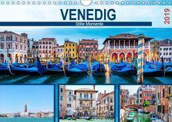 Venedig – Stille Momente (Wandkalender 2019 DIN A4 quer) von hetizia